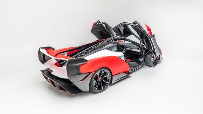 McLaren Sabre: la nuova supercar in edizione limitata