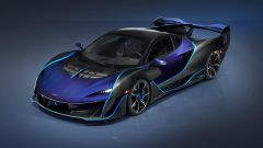 McLaren Sabre: la possibilità di personalizzazione è ai massimi livelli