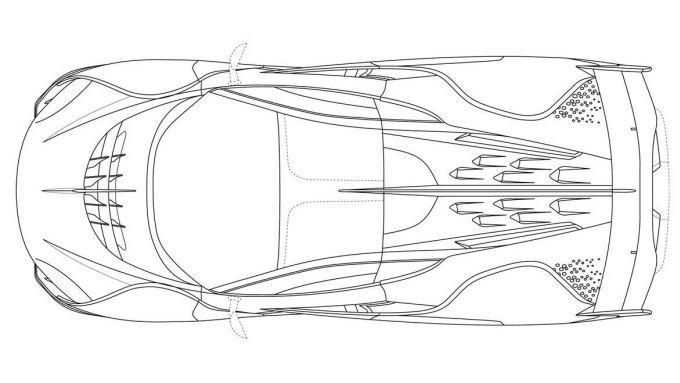 McLaren Sabre: la vista dall'alto della hypercar inglese