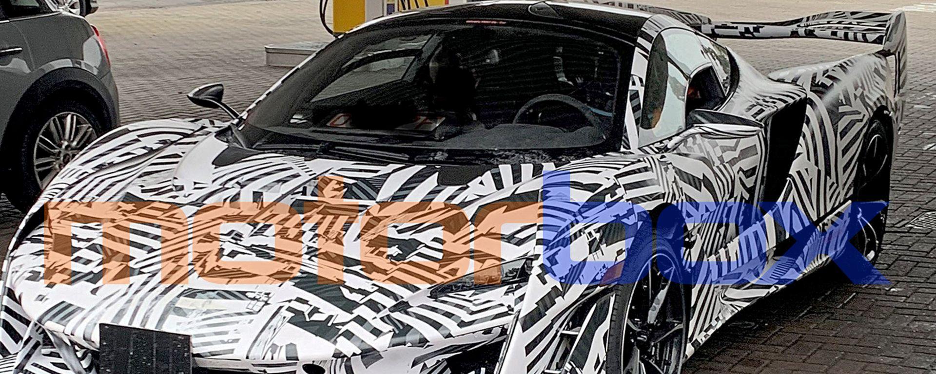 McLaren Sabre, le prime foto spia