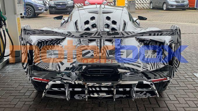 McLaren Sabre: l'enorme diffusore posteriore