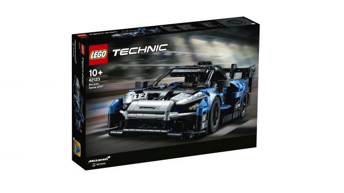 McLaren Senna GTR Lego Technic: la confezione da 830 pezzi