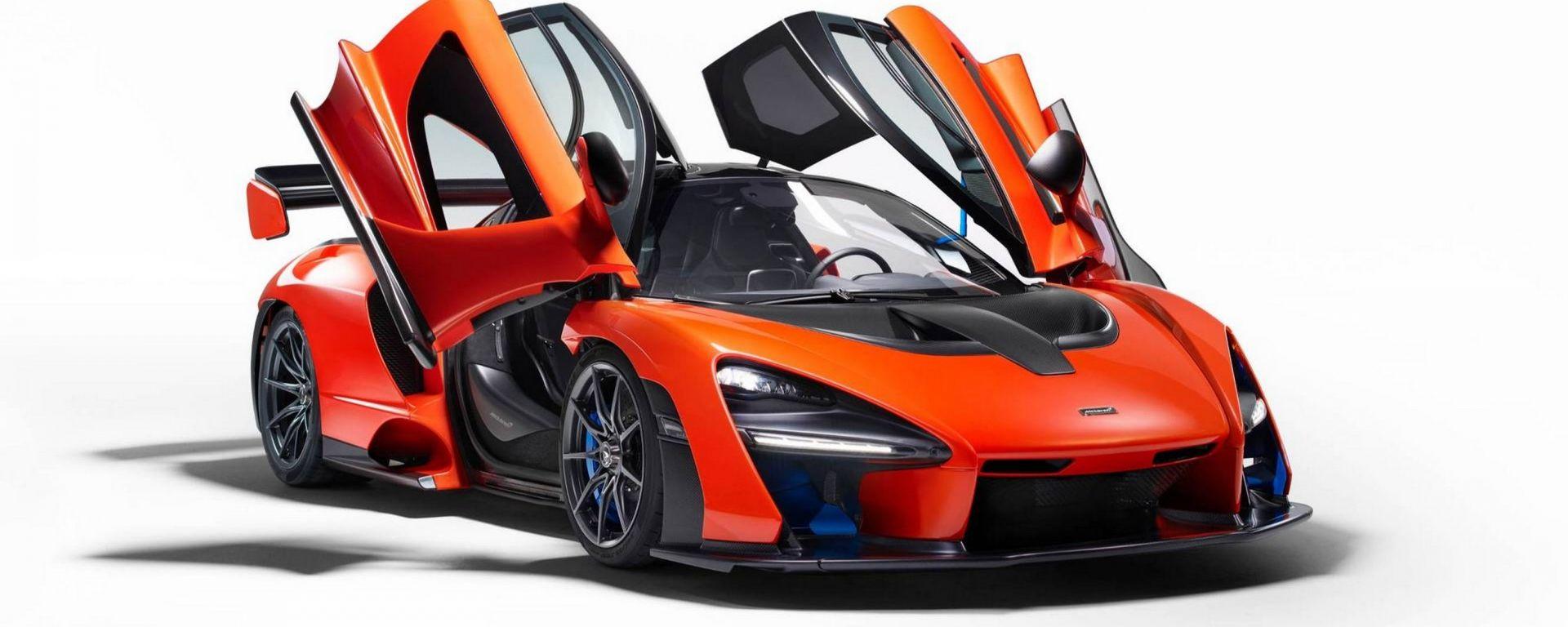 McLaren Senna: supercar estrema ispirata ad Ayrton