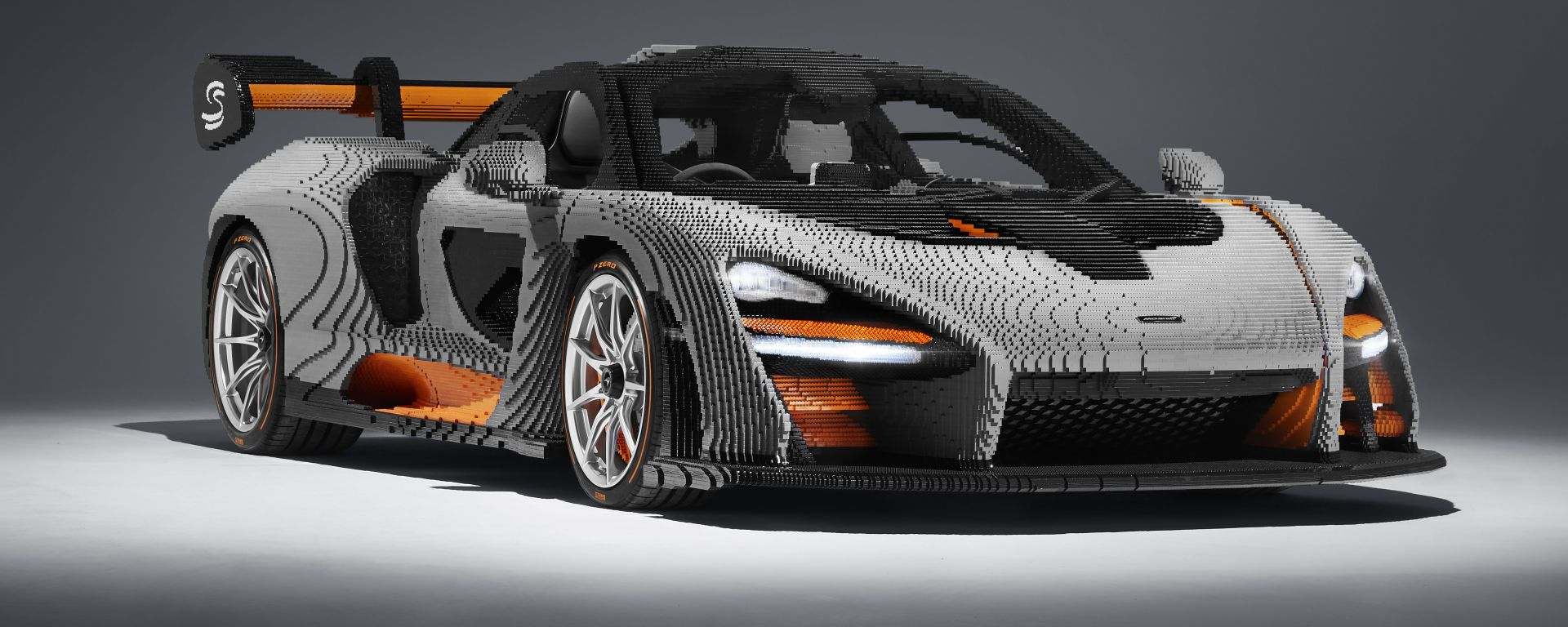 McLaren Senna: un modello a grandezza naturale fatto di Lego
