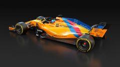 McLaren Speciale Edition per celebrare l'ultimo GP di Fernando Alonso ad Abu Dhabi 2018