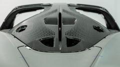 McLaren Speedtail, dettaglio del lunotto