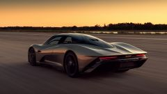 McLaren Speedtail, la forma affusolata della coda