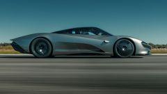 McLaren Speedtail, la linea sembra disegnata dal vento