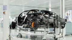 McLaren Speedtail, la meccanica a nudo