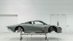 McLaren Speedtail, la scocca di profilo