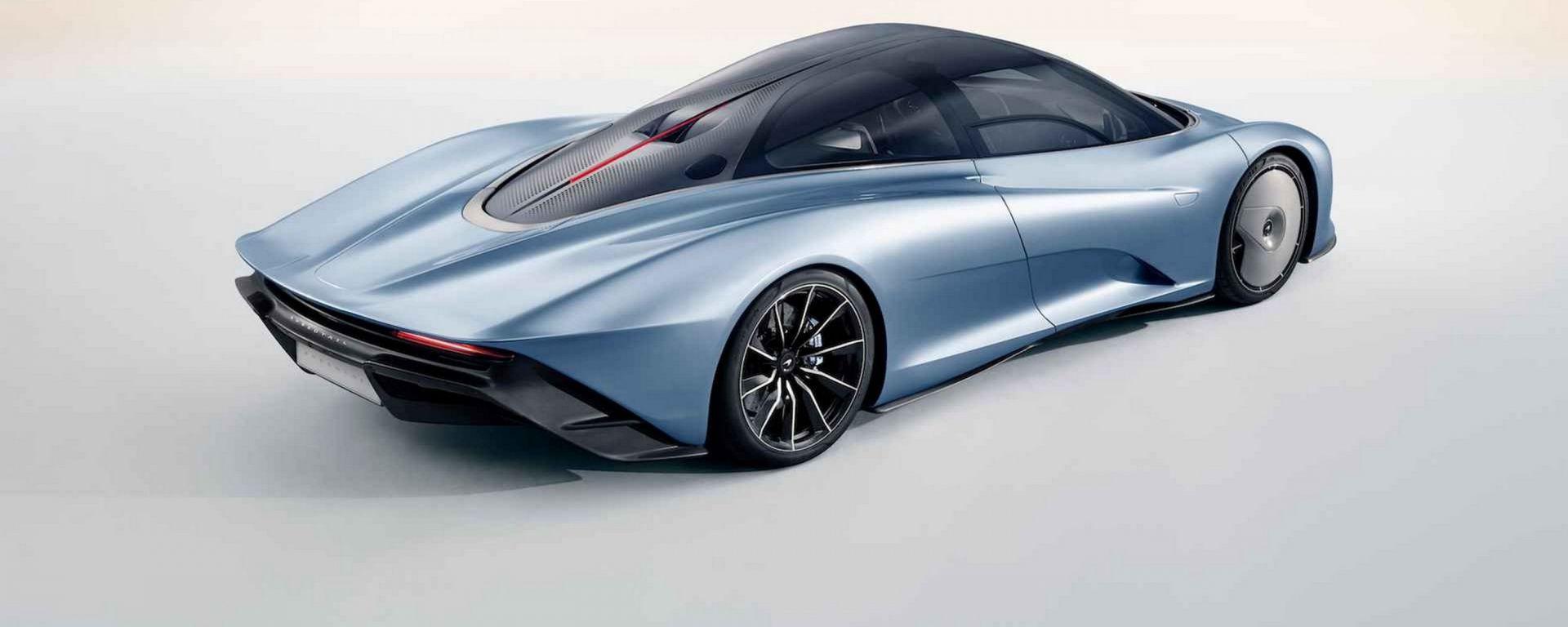 McLaren Speedtail: ecco l'erede della F1 da 400 km/h