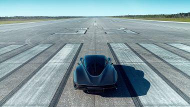 McLaren Speedtail sulla pista costruita dalla NASA per gli Space Shuttle
