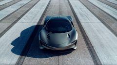 McLaren Speedtail, vista frontale dall'alto