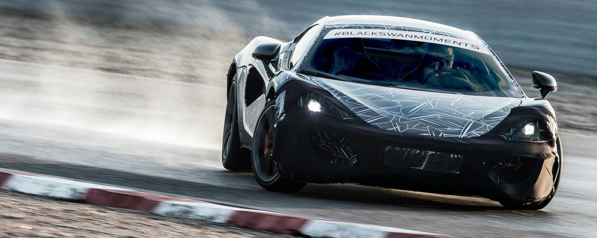 McLaren Sports Series: il teaser della P13