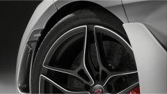 McLaren Super Series: dettaglio della pinna aerodinamica sulla fiancata