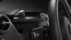 McLaren Super Series: il Folding Driver Display in posizione reclinata