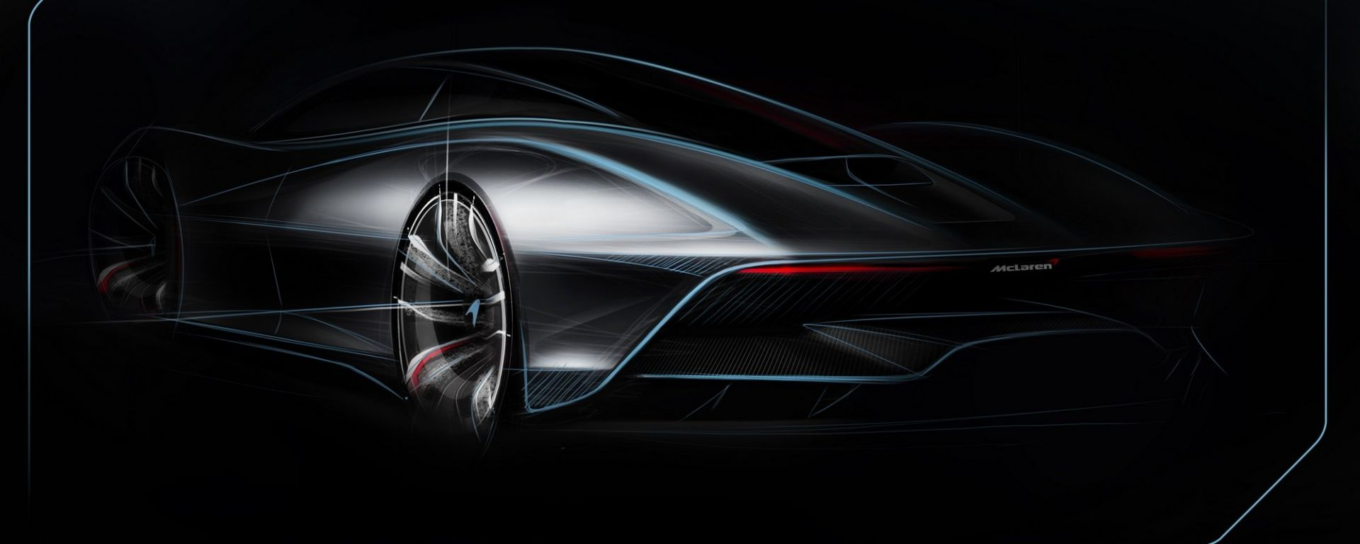 McLaren: uno schizzo della BP23 Speedtail