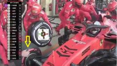 Meccanico Ferrari senza guanto