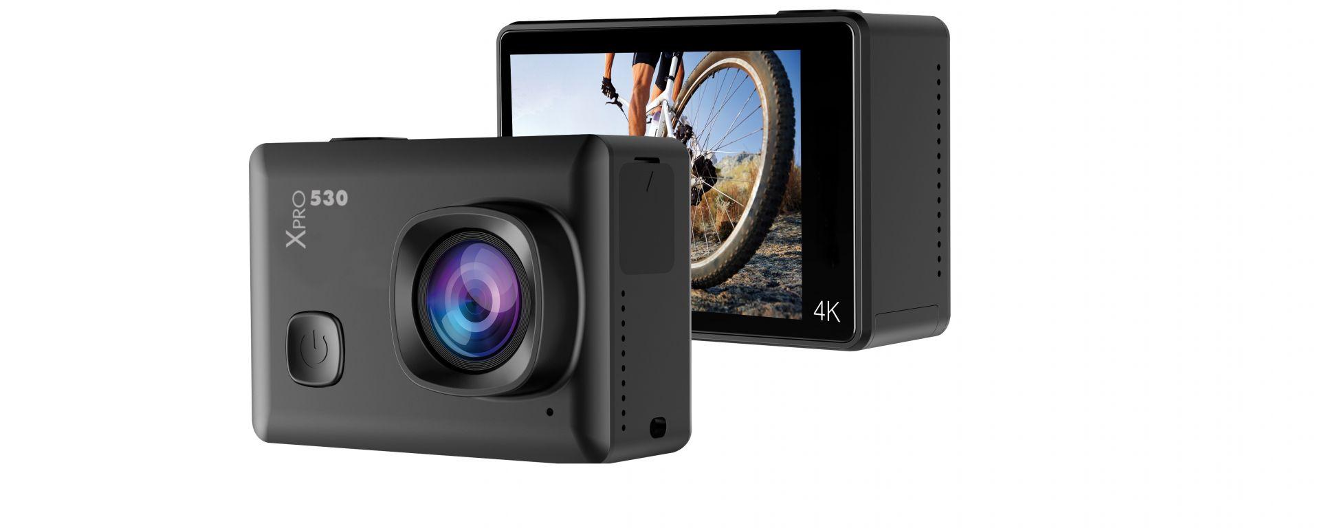 Mediacom SportCam Xpro 530 Wi-Fi: action cam 4K per tutti
