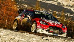 Meeke al Rally di Monte Carlo con la sua DS WRC