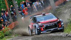 Meeke e la sua Citroen C3 WRC - Rally Finlandia 2017