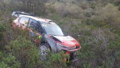 Meeke in crash con la sua C3 WRC