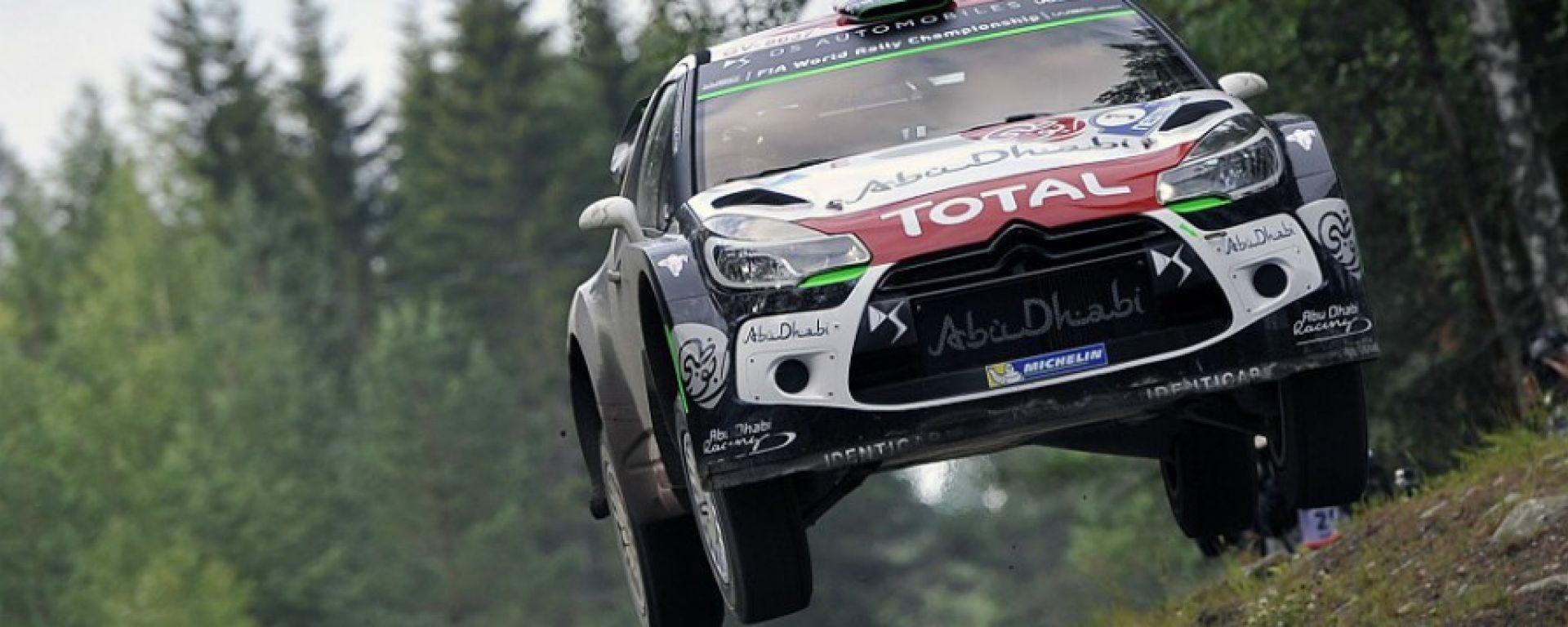 Meeke - Rally di Finlandia 2016