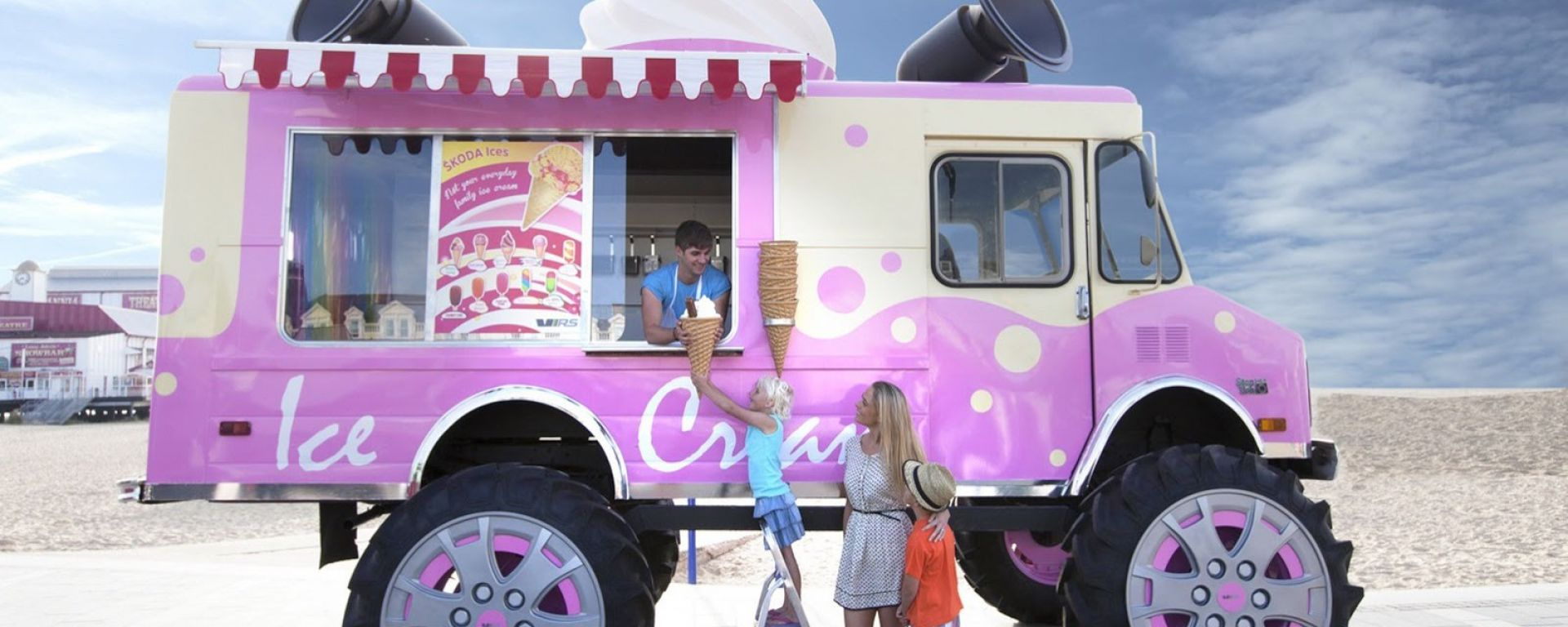 Mega Ice Cream Van