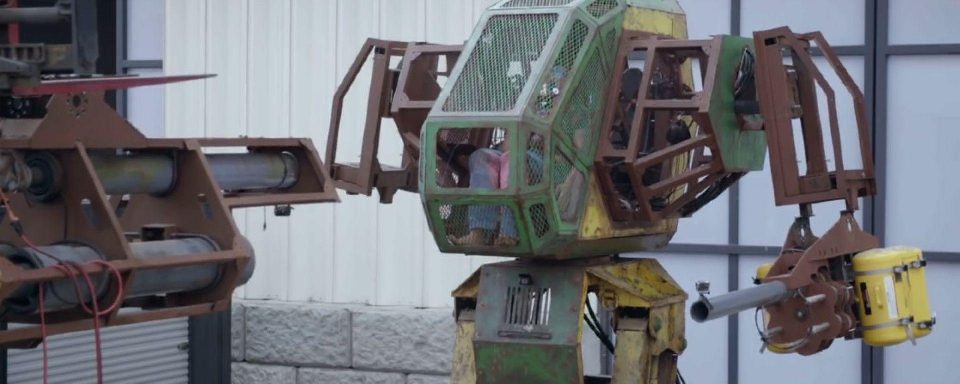 MegaBots vs Kuratas: i robot giganti si preparano alla lotta