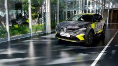 Renault Mégane eVision: le foto della Mégane elettrica