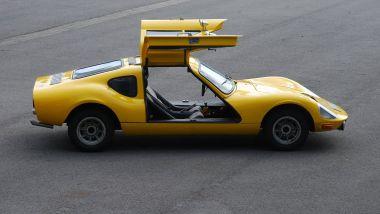 Melkus RS 1000, di lato, portiere aperte
