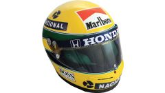 Memorabilia Formula 1: all'asta il casco di Ayrton Senna