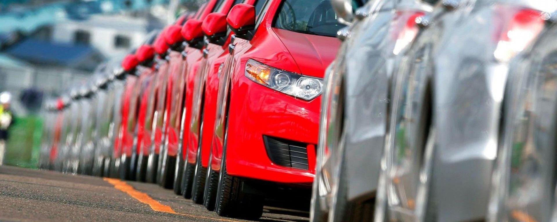 Mercato auto, +9,5% a settembre 2020