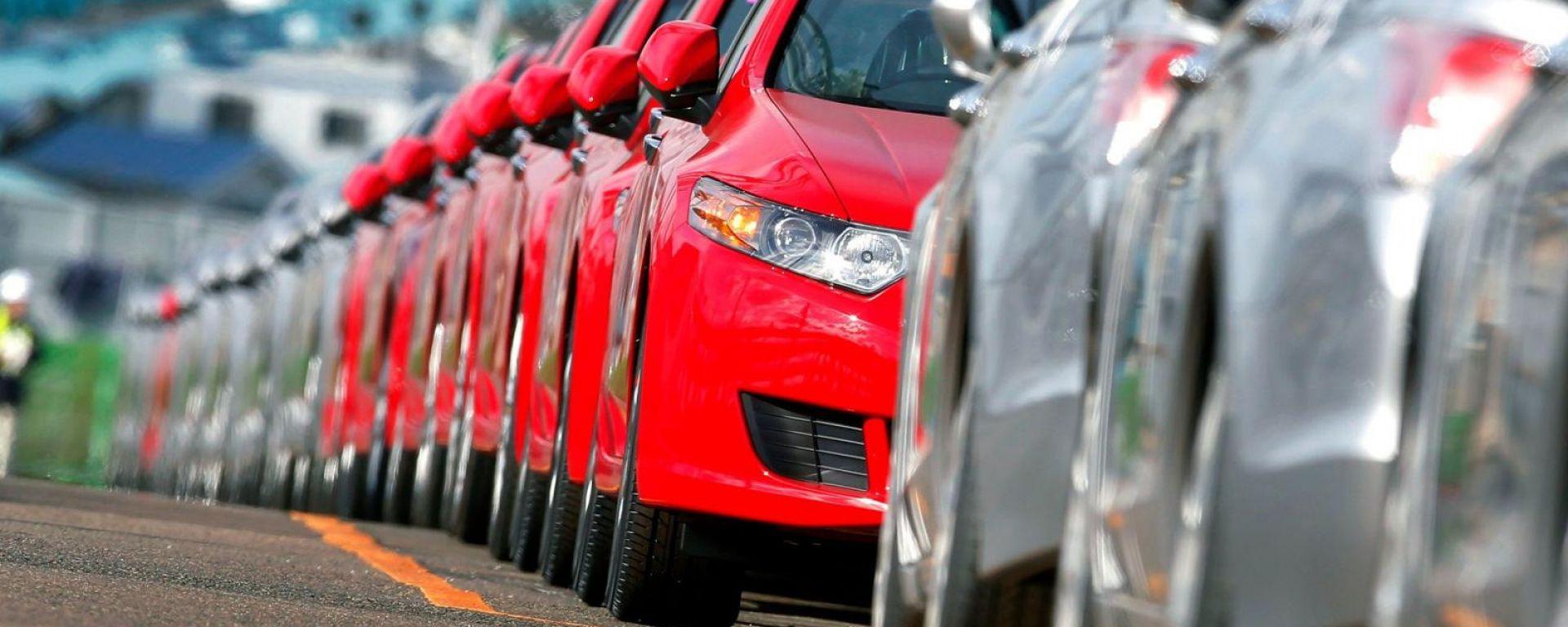 Mercato auto, a gennaio 2019 vendite giù del 7,6%