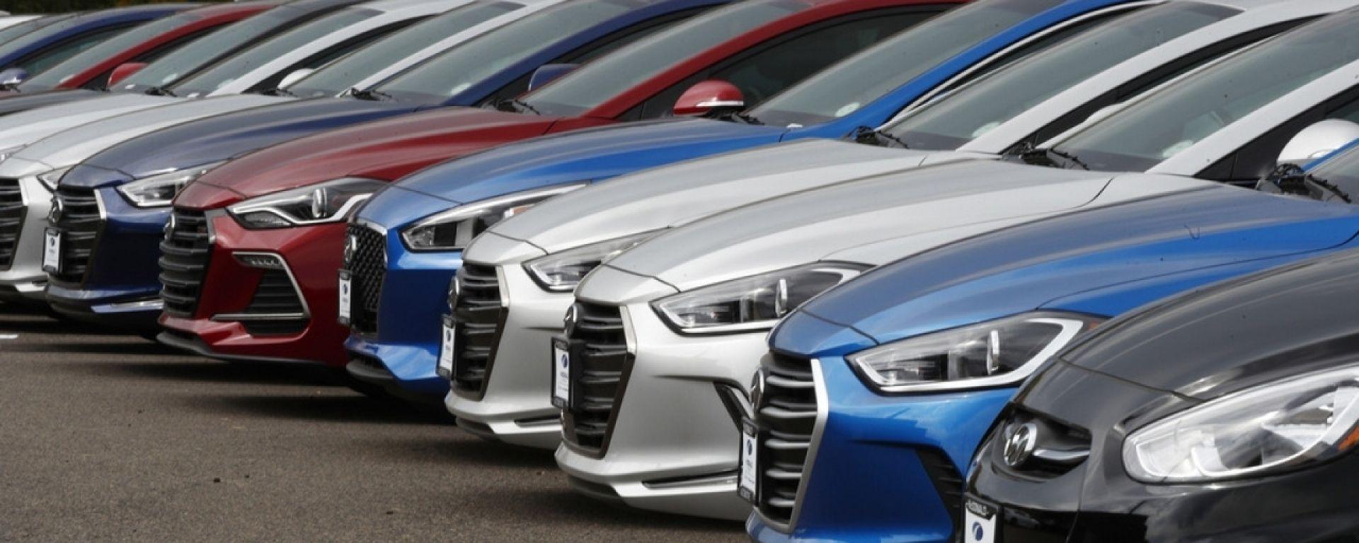 Mercato auto marzo 2019, vendite ancora al ribasso