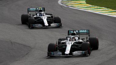 Mercedes 2019, Lewis Hamilton vs Valtteri Bottas