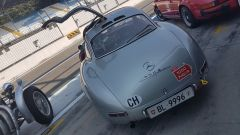 Mercedes 300 SL al rally regolarità Passione Caracciola - Autodromo Monza