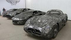 Mercedes 300 SL, Bugatti Veyron, Lamborghini Aventador: alcune chicche della Galeria Figur Stalowych