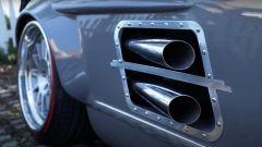 Mercedes 300 SL: gli scarichi del motore V6 turbo AMG
