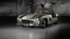 Mercedes 300 SL, le famose portiere ad ali di gabbiano