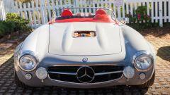 Mercedes 300 SL roadster: il frontale