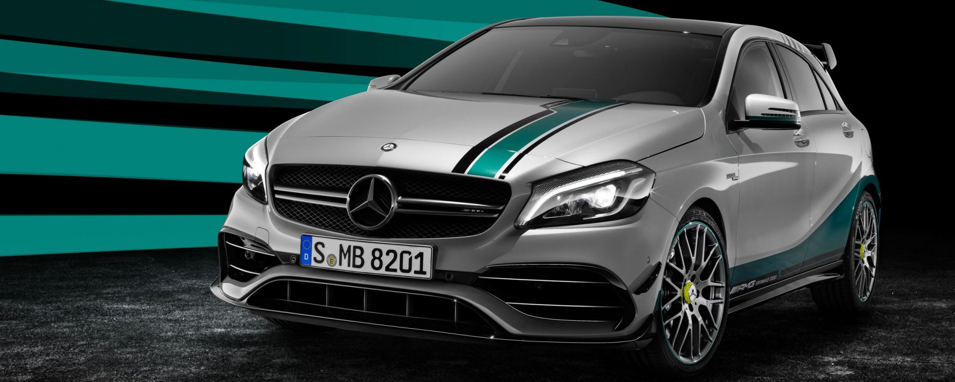 Mercedes A 45 AMG World Champion Edition