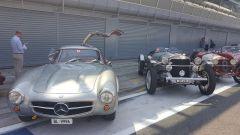 Mercedes al rally regolarità Passione Caracciola - Autodromo Monza