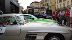 Mercedes corre alla Mille Miglia un pezzo di museo e lancia il racconto Instagram - Immagine: 12