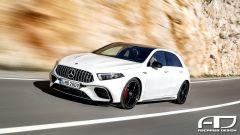 Mercedes-AMG A 45: il rendering di Ascariss Design