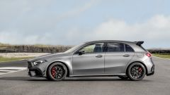 Mercedes-AMG A 45 S 4matic+ 2020: vista laterale