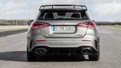 Mercedes-AMG A 45 S 4matic+ 2020: vista posteriore