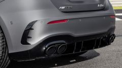 Mercedes-AMG A 45 S, gli scarichi