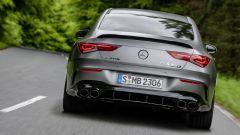 Mercedes-AMG CLA 45 Coupé, gli scarichi