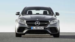 Mercedes-AMG E63, il frontale